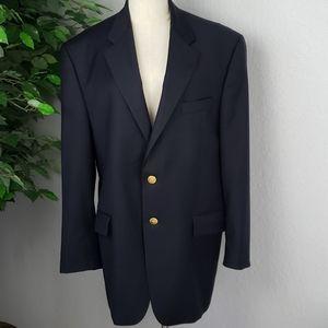 Ralph Lauren Men Navy Blue Blazer 44R